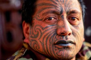 maori tribe face tattoo