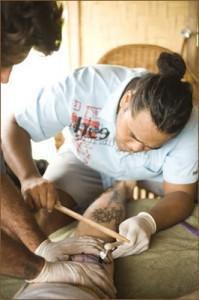 james samuela tattooing traditional