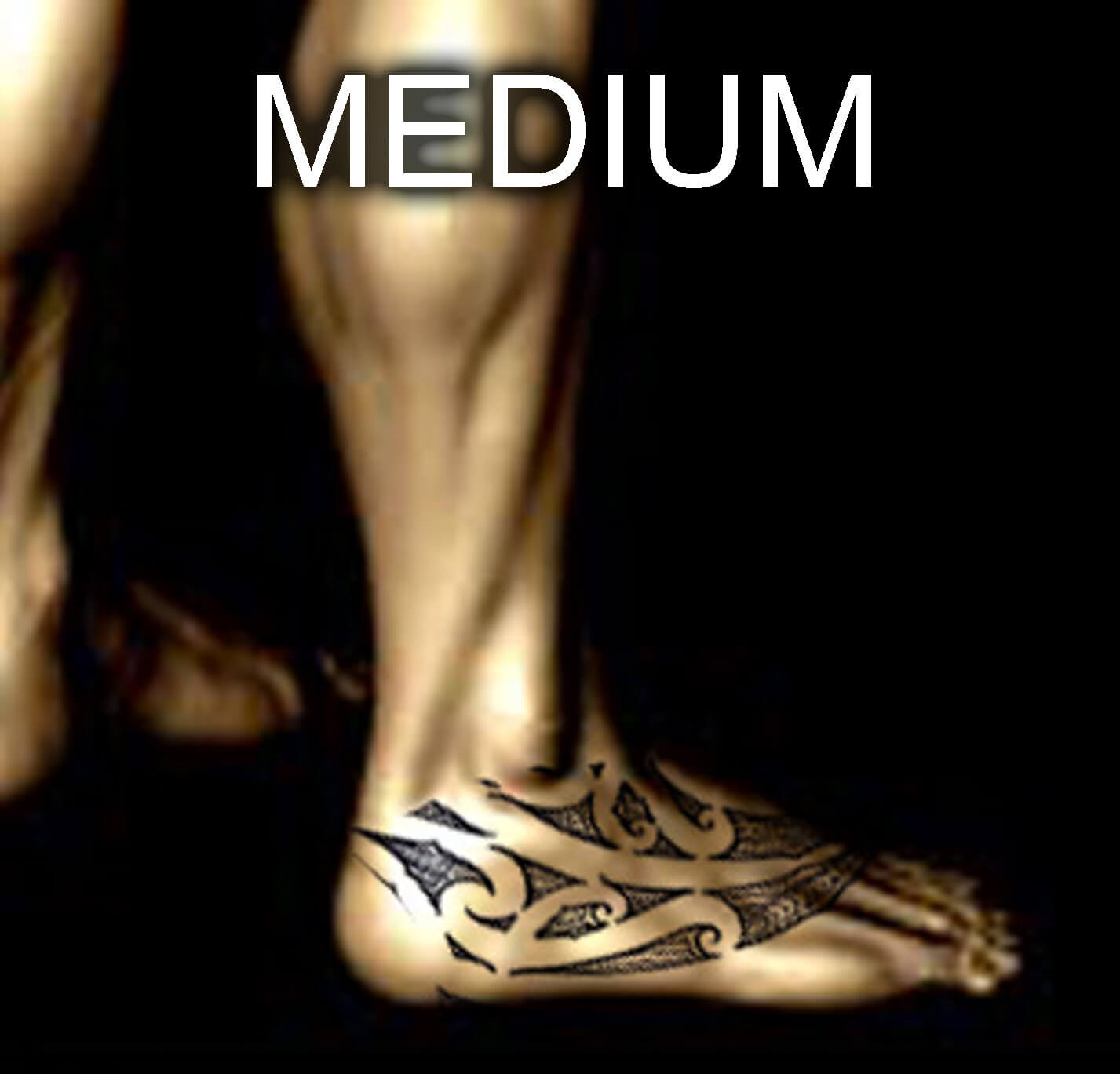 Maori Foot Tattoo: Order Your Authentic & Personalised Maori Or Polynesian